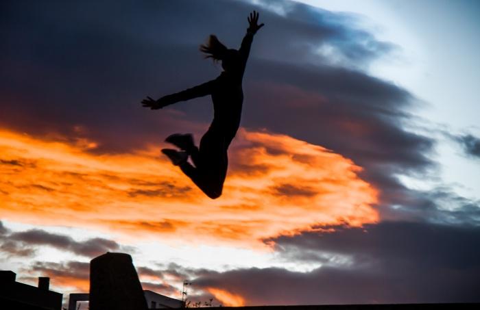 Spain, sunset